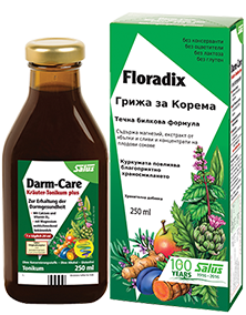 Floradix Грижа за корема